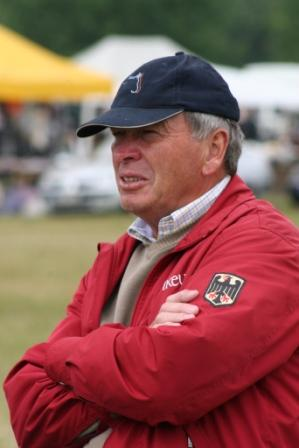 Bundestrainer Ewald Meier