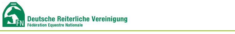 Logo der Deutschen Reiterlichen Vereinigung
